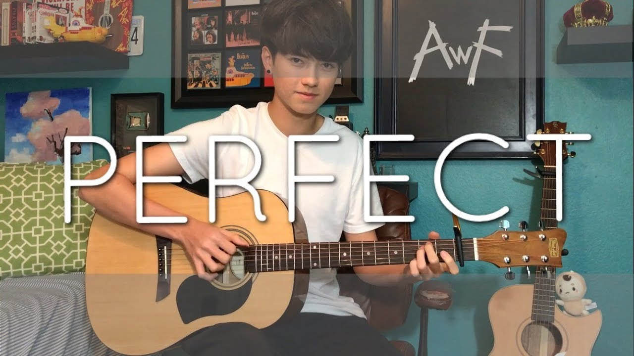 perfect ed sheeran fingerstyle tutorial
