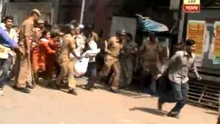 A police man died as Miscreants Fired at  Harimohan Ghosh college