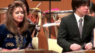This piece, Santour Concertino (a composition by the former princip...