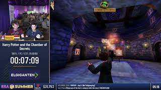 #ESASummer18 Speedruns - Harry Potter and the Chamber of Secrets [100%] by Rasschla