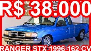 PASTORE R$ 38.000 Ford Ranger STX 1996 Azul aro 15 MT5 RWD 4.0 V6 162 cv 162 kmh #RANGER