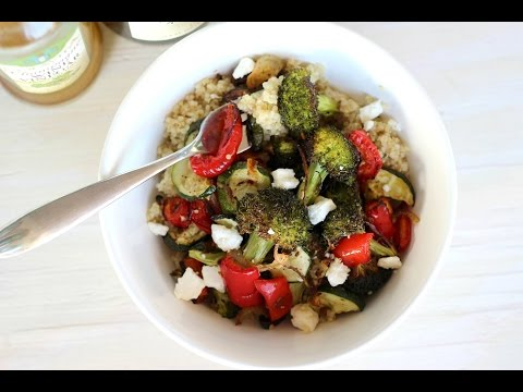 Dinner Recipe: Roasted Veggie Quinoa Bowl by Everyday Gourmet with Blakely