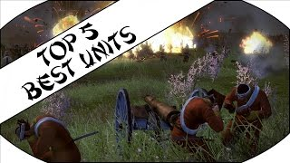 TOP 5 BEST UNITS - Total War: Shogun 2 - Fall of the Samurai!