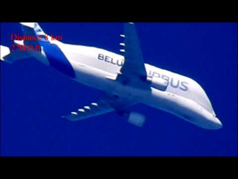 Nikon P900 Zoom Contrails (Chemtrails Airplane Distance 8 - 80 Miles)