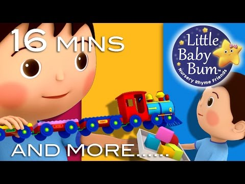 Thumbnail: Tidy Up Song Compilation | Plus More Nursery Rhymes | Original Song by LittleBabyBum!