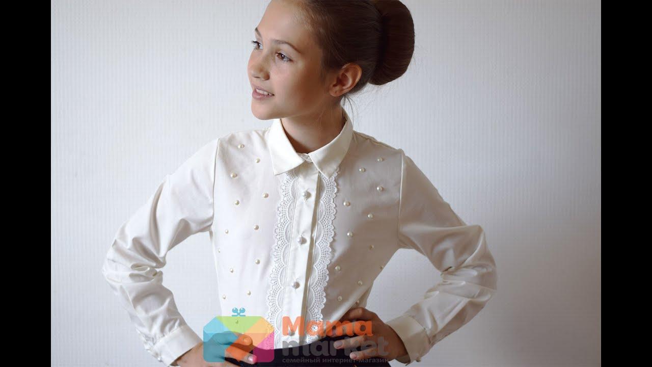 Рубашка для девочки подростка Веночек - YouTube