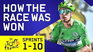 The Tour de France Sprint Stages (Week 1)   How The Race Was Won   Cycling   Eurosport