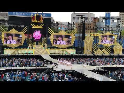 2曲目だったかな。 みどりと森の運動公園をスタンド席より撮影(撮影可) 2019.4.27 AKB48グループ春のLIVEフェスin横浜スタジアム 15:45〜16:15 【NGT48...