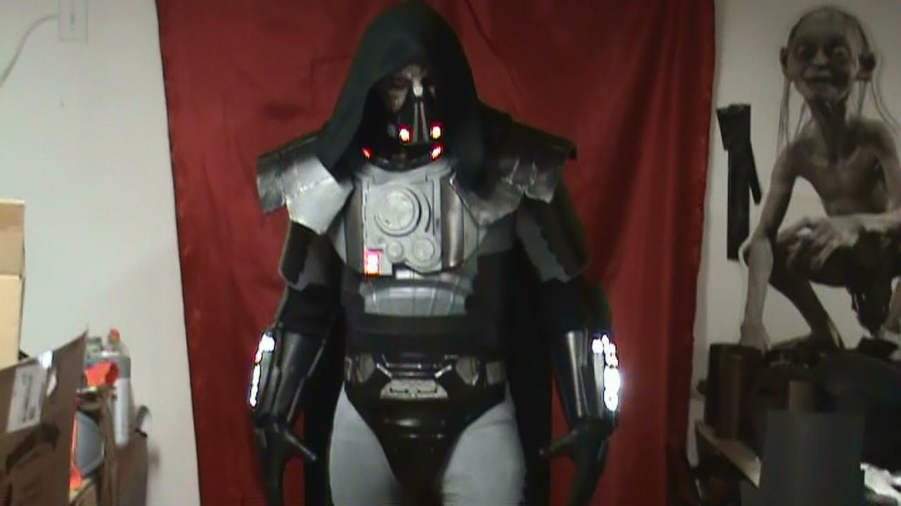 Darth Malgus First Costume Test Youtube