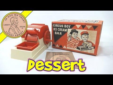 Circus Boy Ice Cream Bar - Junket Ice Cream - Baja Blast & Hawaiian Punch