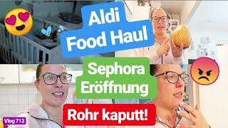 Drama bei der Sephora Eröffnung! l Aldi Food Haul l Wohnungsgeschichte l Krabbelgruppe l Vlog 712