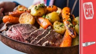 Big Night In - Incredible Sunday Roast Beef   FridgeCam