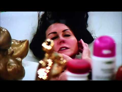 A depressed & suicidal Liz Jones with Luisa Zissman in the bathroom - UK Big Brother 20/01/2014