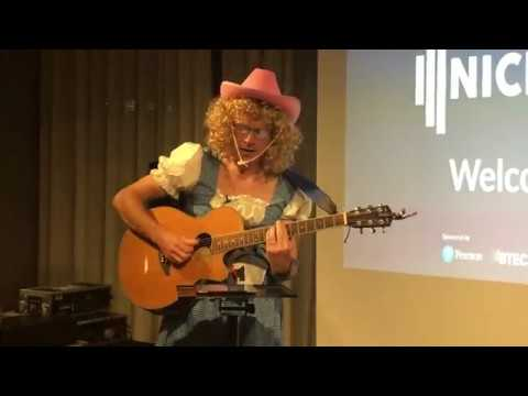 "Ian Pryce sings Dolly Parton cover ""Justine"""