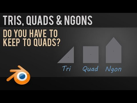 Do You Have To Model In Quads? Tris, Quads & Ngons Explained