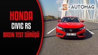 2017 Honda Civic RS ilk izlenim