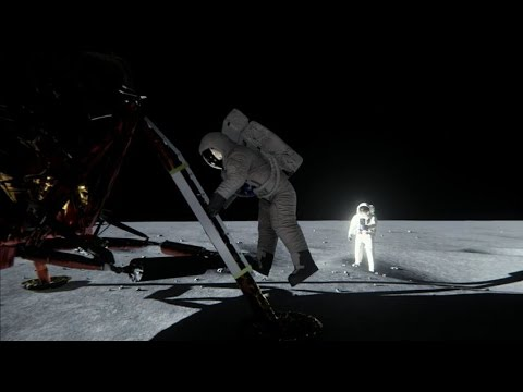 Debunking Lunar Landing Conspiracies with Maxwell and VXGI