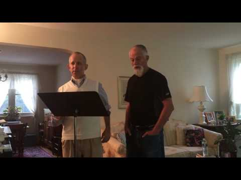 Herman and Mark sing