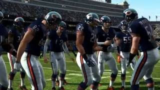 Madden NFL 11 PS3 Detroit Lions vs Chicago Bears