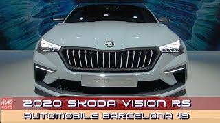 2020 Skoda Vision RS - Exterior Walkaround - 2019 Automobile Barcelona