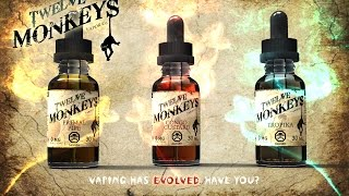 12 Monkeys Vapor Has finally made it, come with me on this exotic j...
