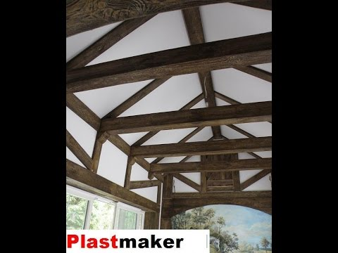 How To Make Rustic Beams Faux Wood Fake Easy Installig Ceiling