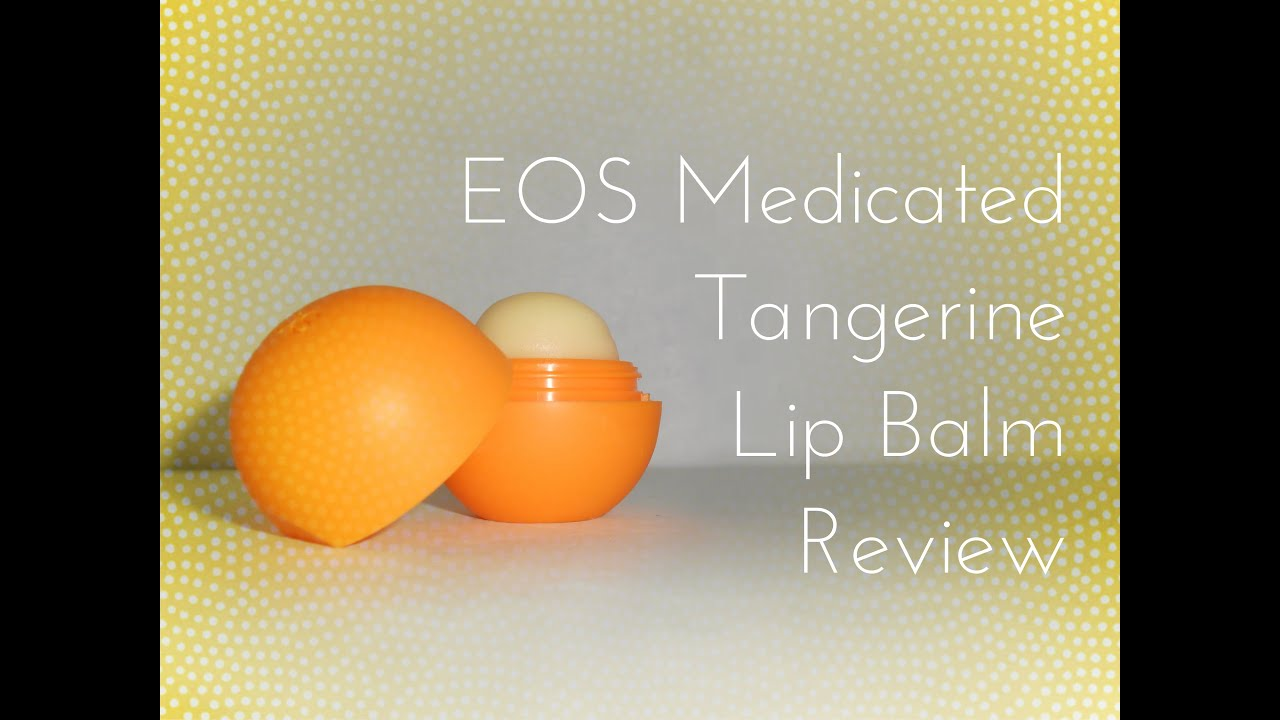 Eos medicated lip balm review