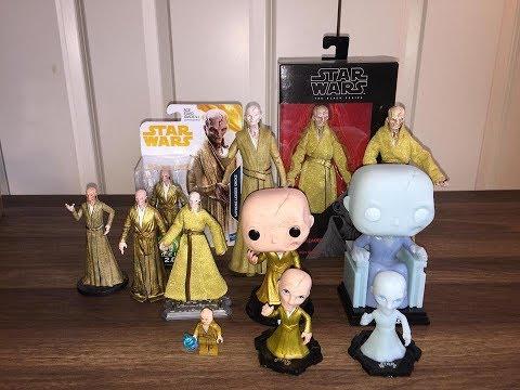 Every Supreme Leader Snoke that has come out so far Hasbro| Funko| Disney| Lego
