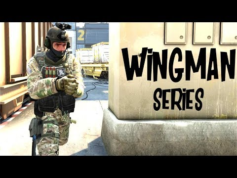 CSGO WINGMAN SERIES STARTS! GAME 1 & 2