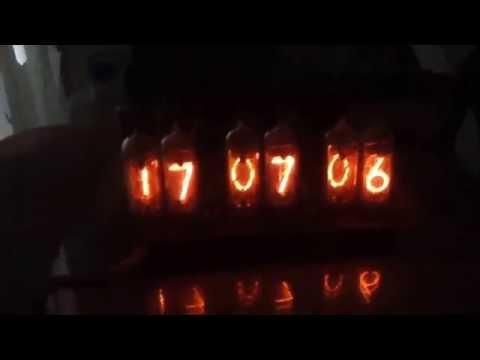 ИН-14 индикаторы тлеющего разряда в работе