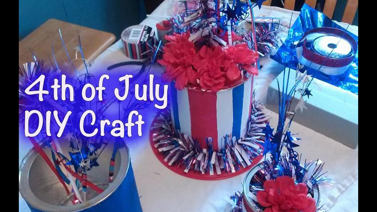 Diy Crafts 4th Of July Centerpiece Giftbasketappeal