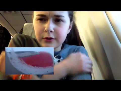 Клип,который я сняла в самолёте!