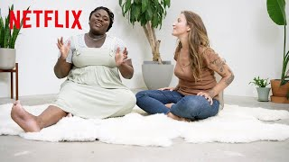 What's a Doula? Danielle Brooks Finds Out | A Little Bit Pregnant | Netflix Family