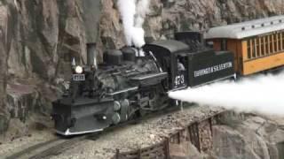 "Durango & Silverton Narrow Gauge Railroad ""Winter photo special train"""