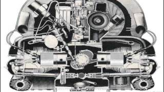 Animation of Volkswagen suitcase engine
