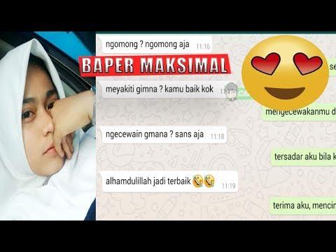 Prank Text BAPER  Lagu Hello - Diantara Bintang