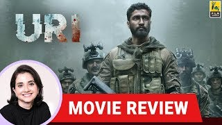 Anupama Chopra's Movie Review of Uri: The Surgical Strike | Aditya Dhar | Vicky Kaushal