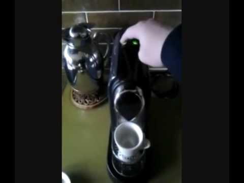 Haushaltsgerate Test Nespresso Maschine Der Firma Krups Youtube