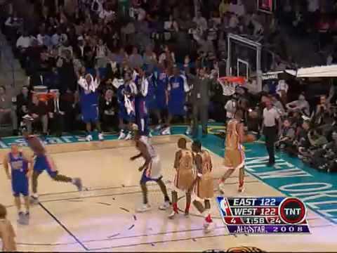 2008 NBA all star game Highlights