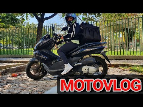 PRIMEIRO MOTOVLOG do canal - Canal de delivery motogirl