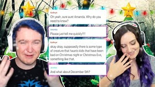 Reading Christmas Stories with Laurenzside! - Hooked