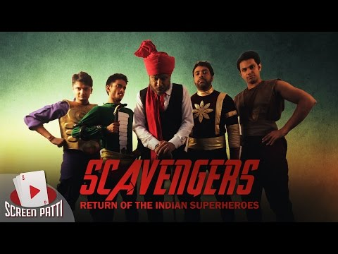 Screen Patti || Scavengers - The Return of Indian Superheroes