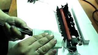 Ремонт (заміна термоплівки) Canon, HP частина 3