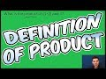 8.3 Standardized Test Question- Definition of Product