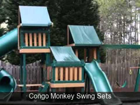 Congo Monkey Swing Sets