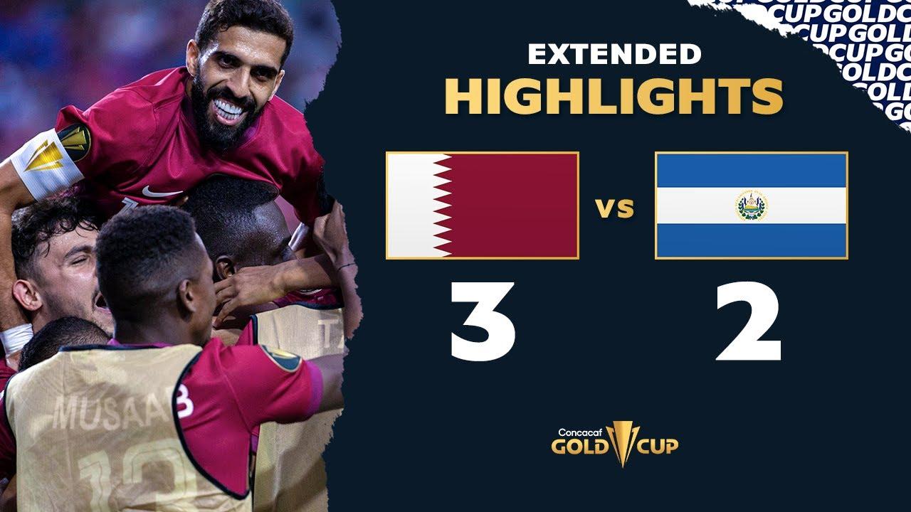 Recap: Qatar 3, El Salvador 2