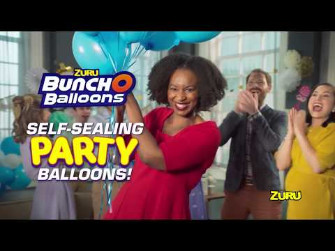 Make Helium Balloons Super-Fast | Bunch O Balloons Party Balloons By ZURU