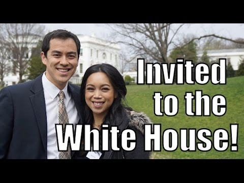 We Were Invited to THE WHITE HOUSE! - March 15, 2016 -  ItsJudysLife Vlogs
