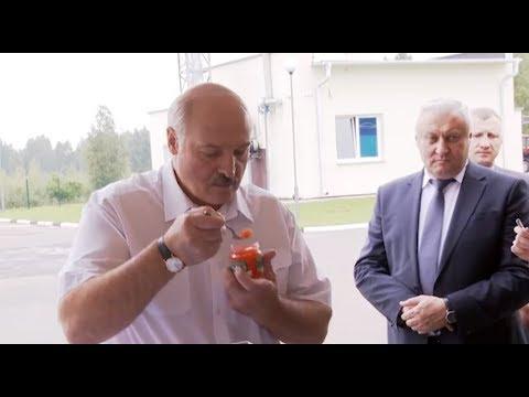 Лукашенко продегустировал белорусскую красную икру