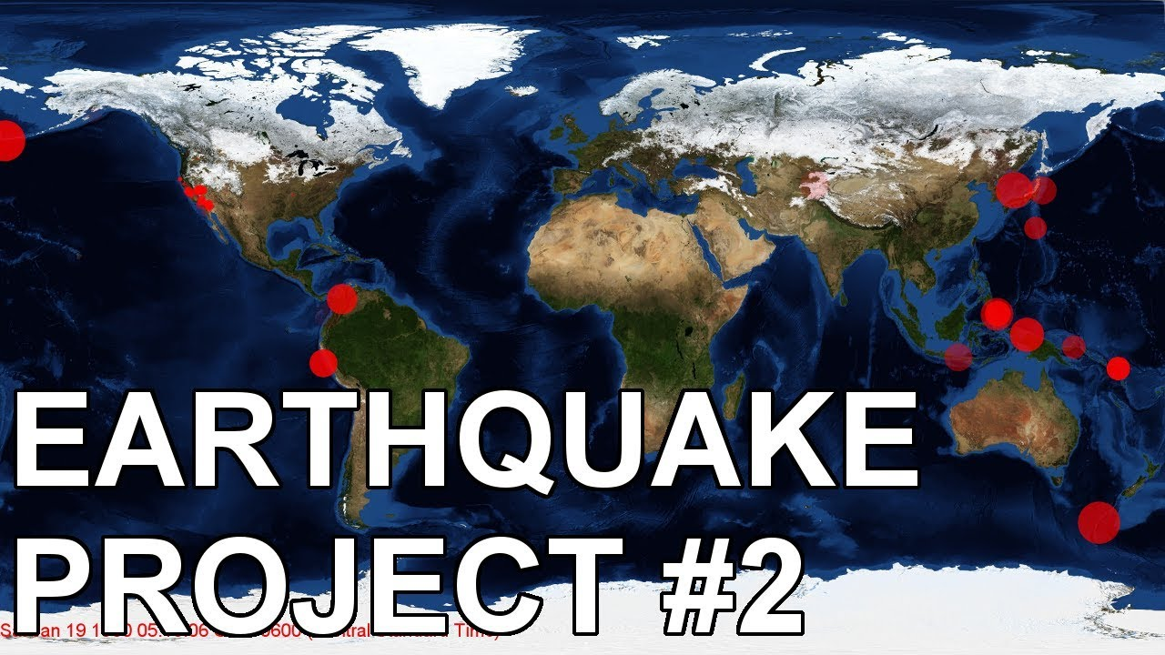 Earthquake Project – Part 2 | Synaptik Labs